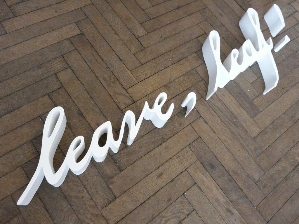 leave leaf 1