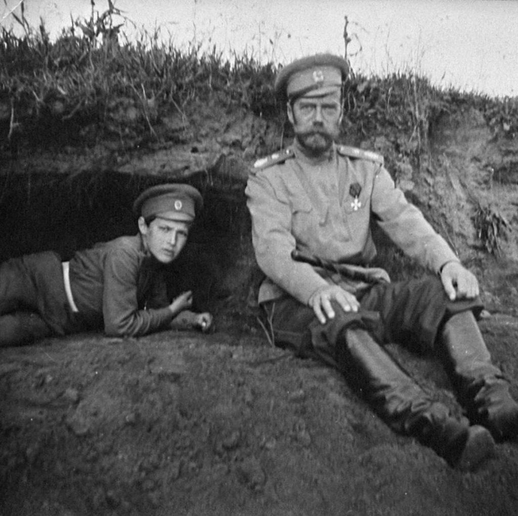 Zar und Zarewitsch in Moghileff